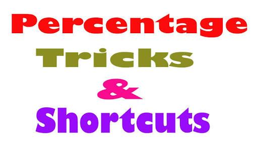 PERCENTAGES SOLUTIONS TRICKS FORMULA SHORTCUTS